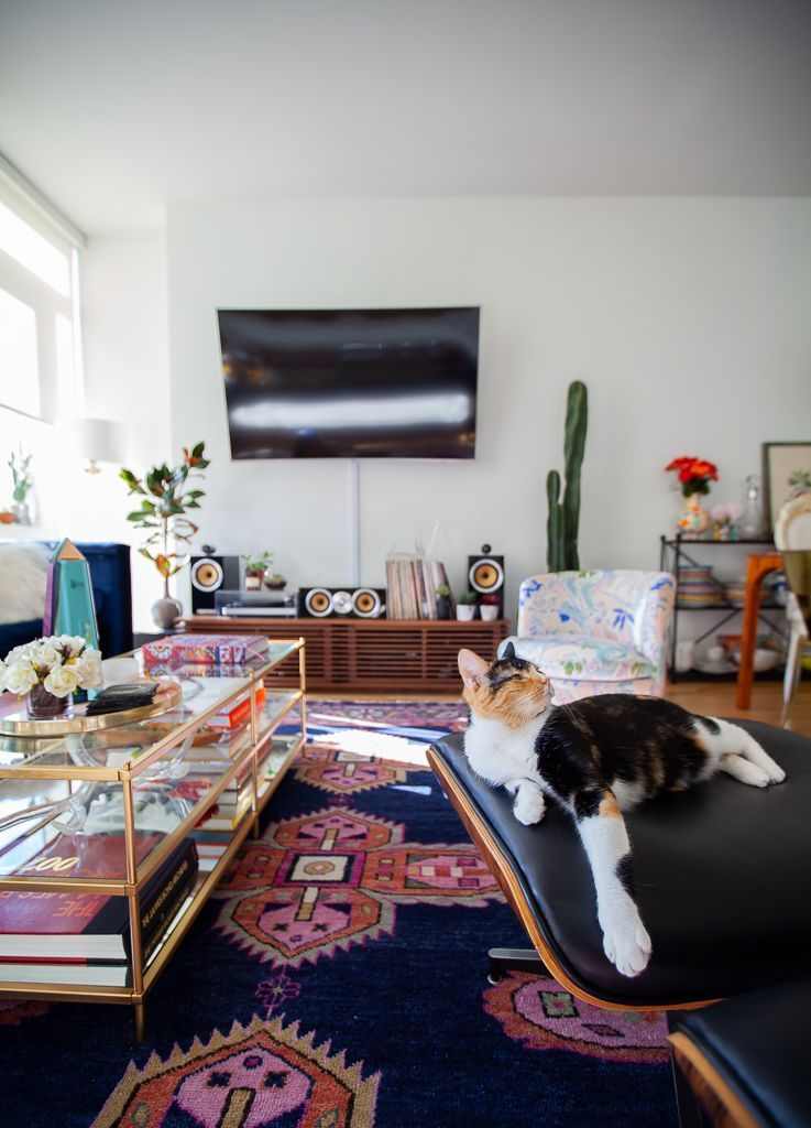 Maximalist Traditional Eclectic New York Apartment Tour Therapy