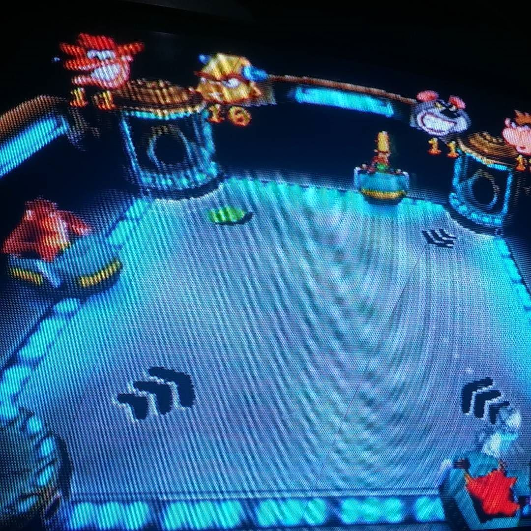 Interesting one by fatimamendez__ #playstation1 #microhobbit (o) http://ift.tt/28VeF9J los buenos tiempos Crash Bandicoot #play1 #playstation  #1999 #loveit