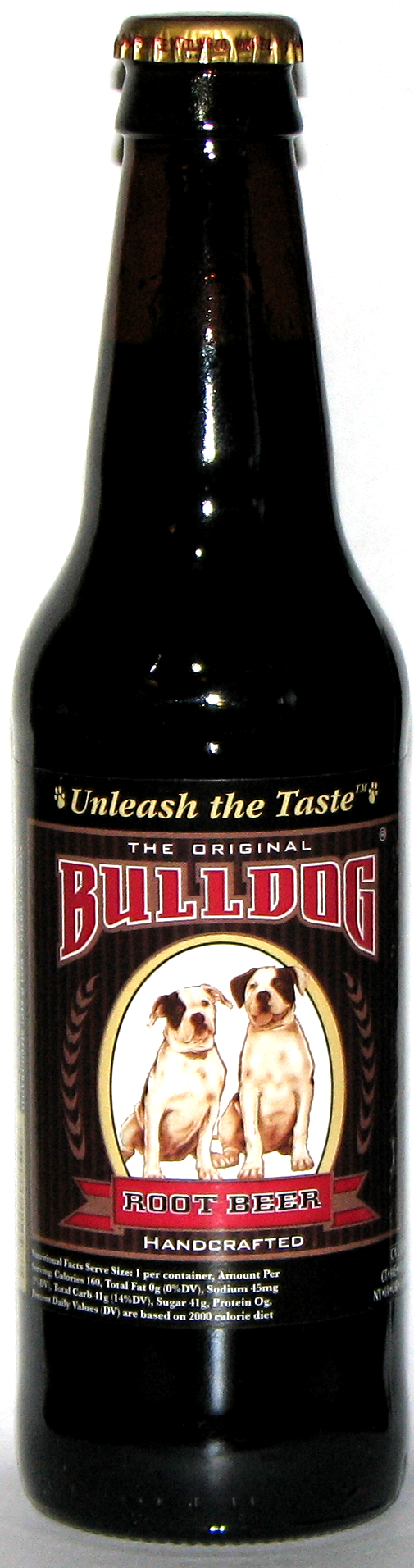 Bulldog Root Beer. Orca Beverages, Mukilteo, WA. Comments