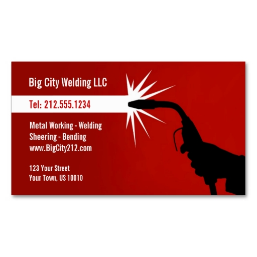 CUSTOMIZABLE Welding Business Card Business cards, Template and - orbital welder sample resume