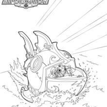Skylanders Superchargers Coloring Pages 52 Free Online Printables For Kids Skylanders Skylanders Party Slumber Party Games