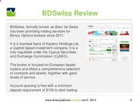 Check the binary options trading demo account