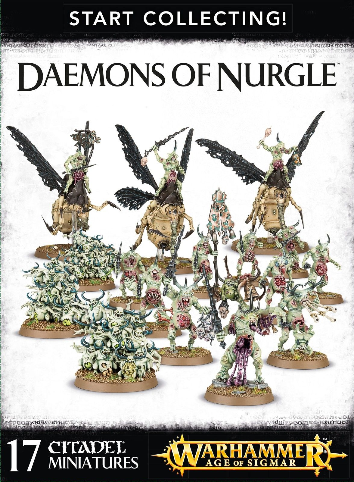 Start Collecting Daemons of Nurgle Miniatures, Games