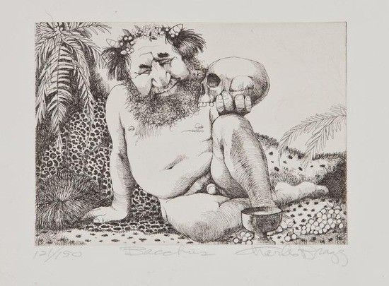charles bragg | 389: Charles Bragg (b.1931) Bacchus