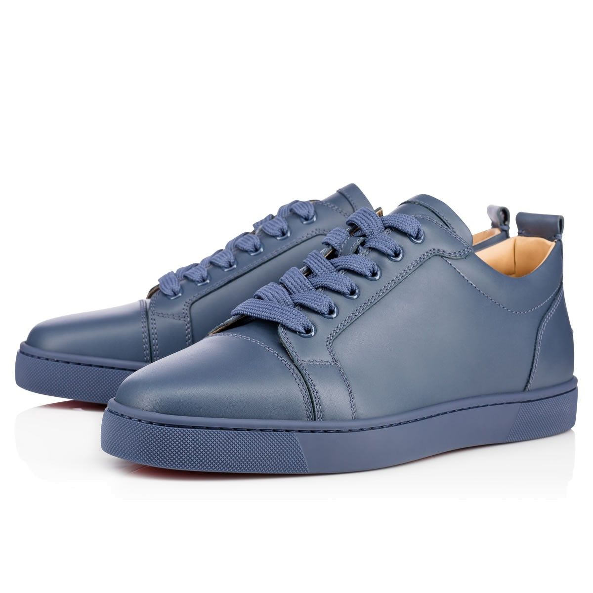 6464f0dbfb7 CHRISTIAN LOUBOUTIN Louis Junior Calf Blues Calfskin - Men Shoes ...