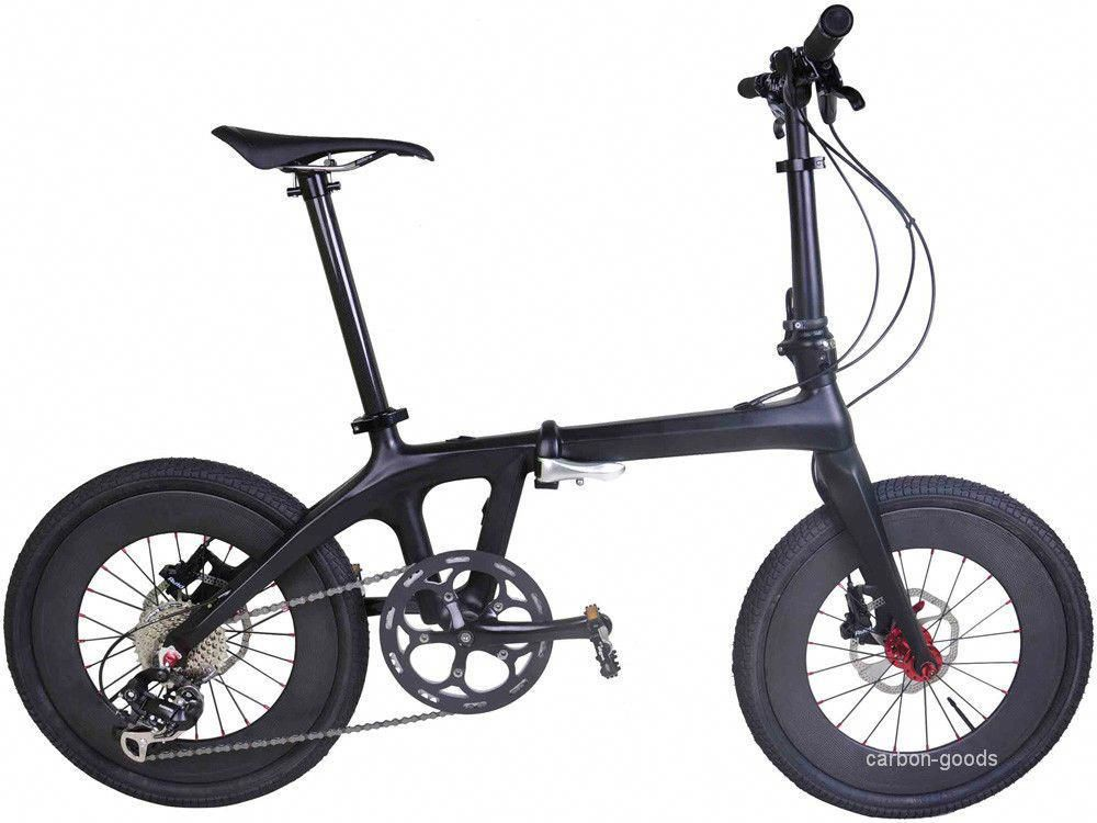 Other Bicycle Parts 20 In Folding Bike Full Carbon Material 20in