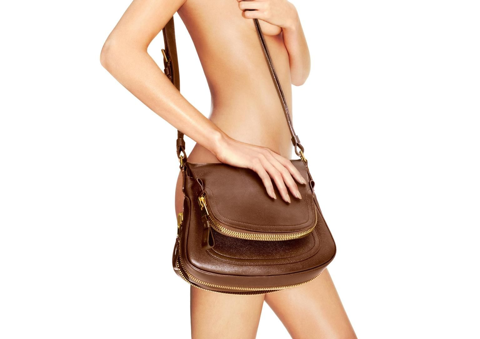 4defe3a0d Jennifer Leather Adjustable Strap Medium Shoulder Bag | Shop Tom Ford  Online Store