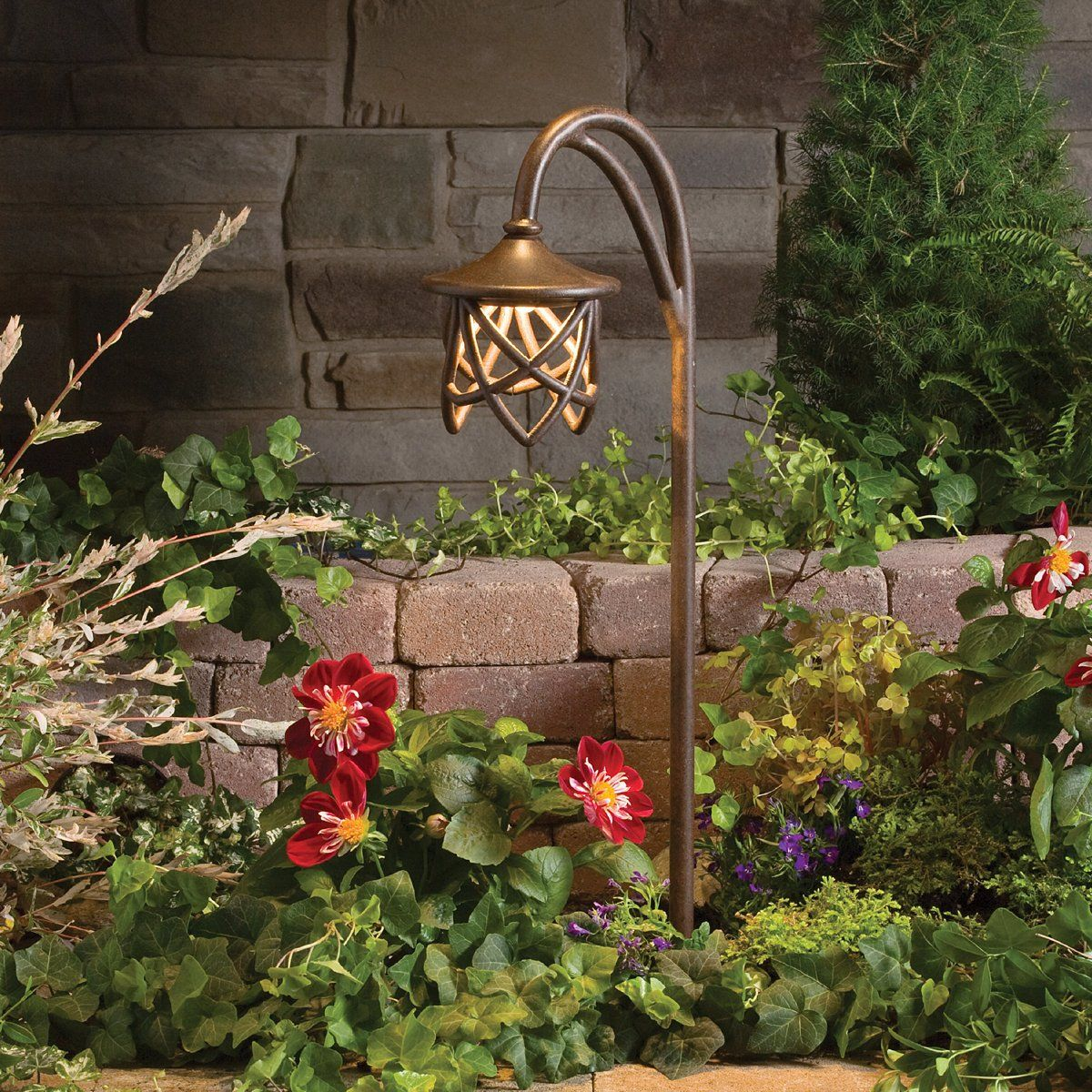 Shop Kichler Lighting 15429TZT Cathedral Path Pathway Light ...