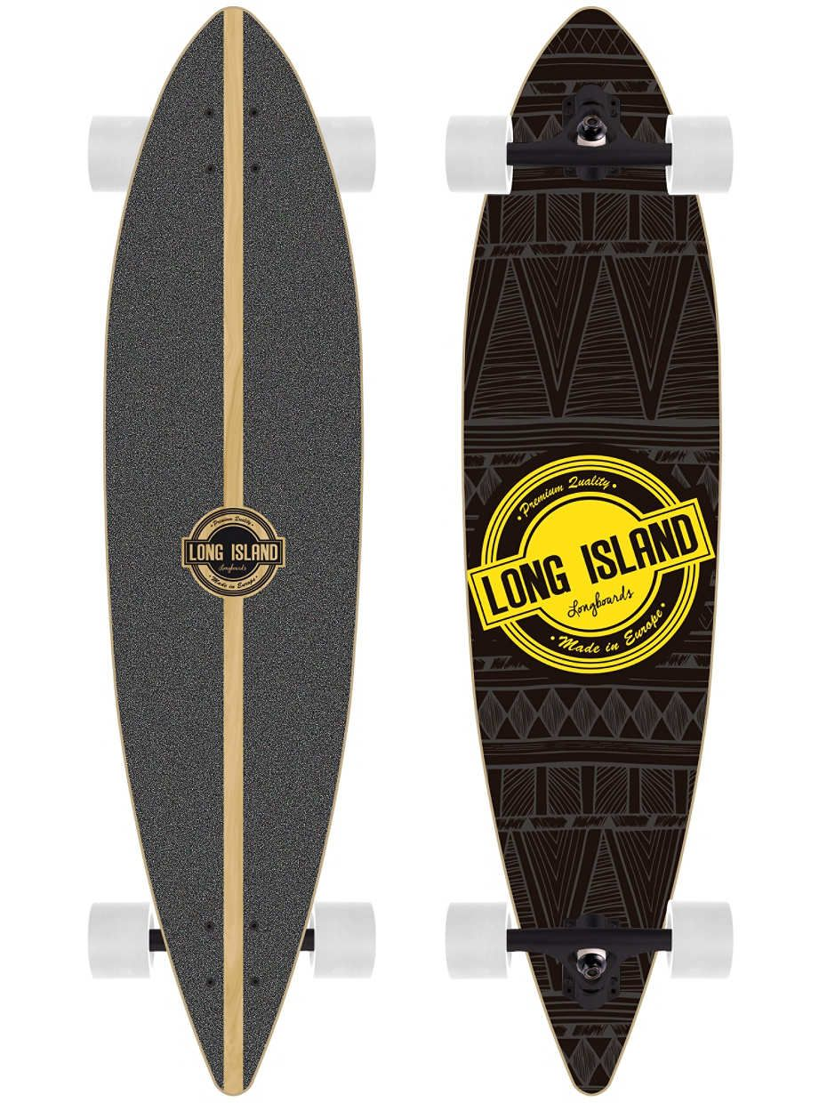 """Buy Long Island Longboards Pintail TM 9.6"""" x 40.1"""" Complete online at blue-tomato.com"""