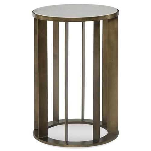Mr Brown Brixham Modern Classic Gold Marble Round End Table Table Modern End Tables Small Accent Tables
