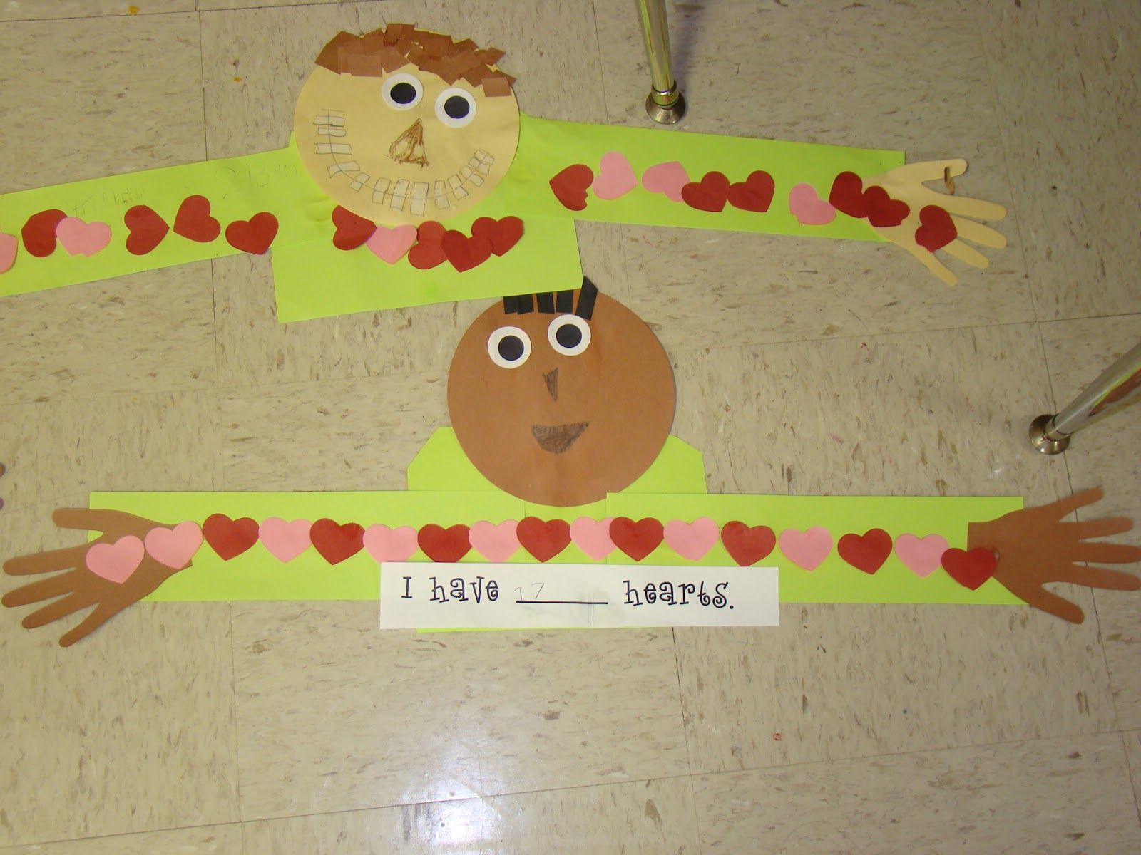 Mrs Bearden S 2nd Grade Class Getting Ready For Valentine S And Community Helpers