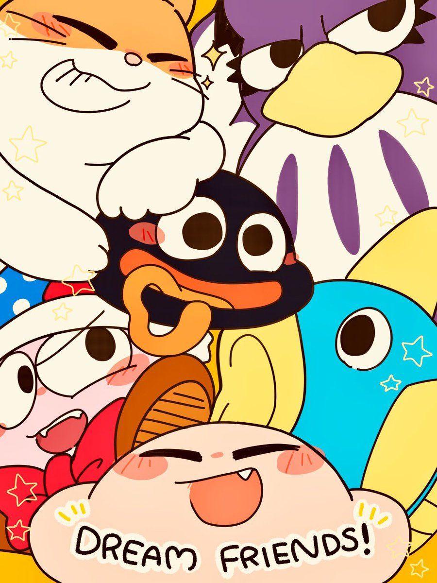 Pin By Liℓ Rxwyai On Kirby Videojuegos Juegos De Anime Kawaii