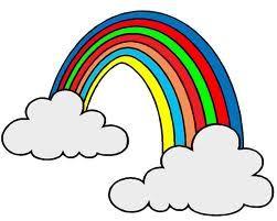 Arcobaleno Da Colorare Per Bambini Cerca Con Google Clipart