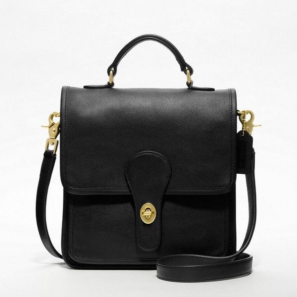 Coach Station Bag ($258) found on Polyvore