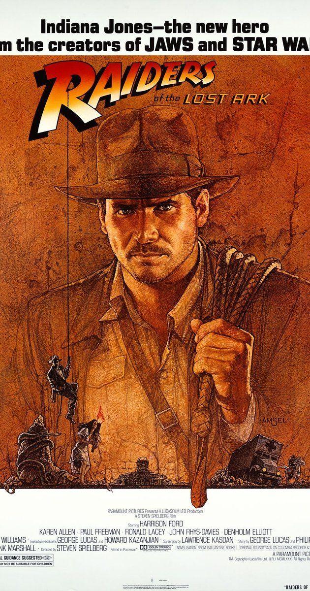 Raiders Of The Lost Ark 1981 Film Locandine Di Film Storia Del Cinema