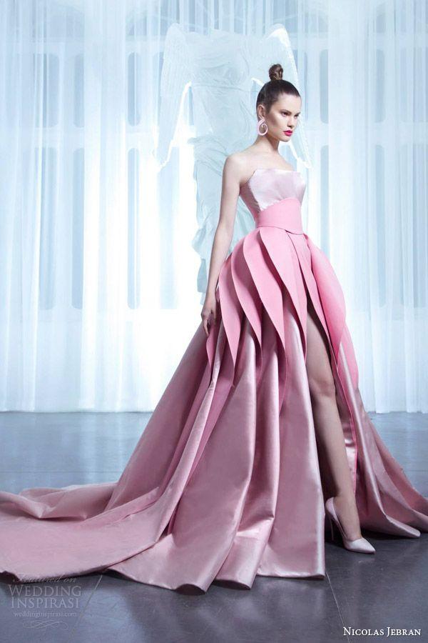 Nicolas jebran spring 2015 couture collection more for Designer haute couture dresses