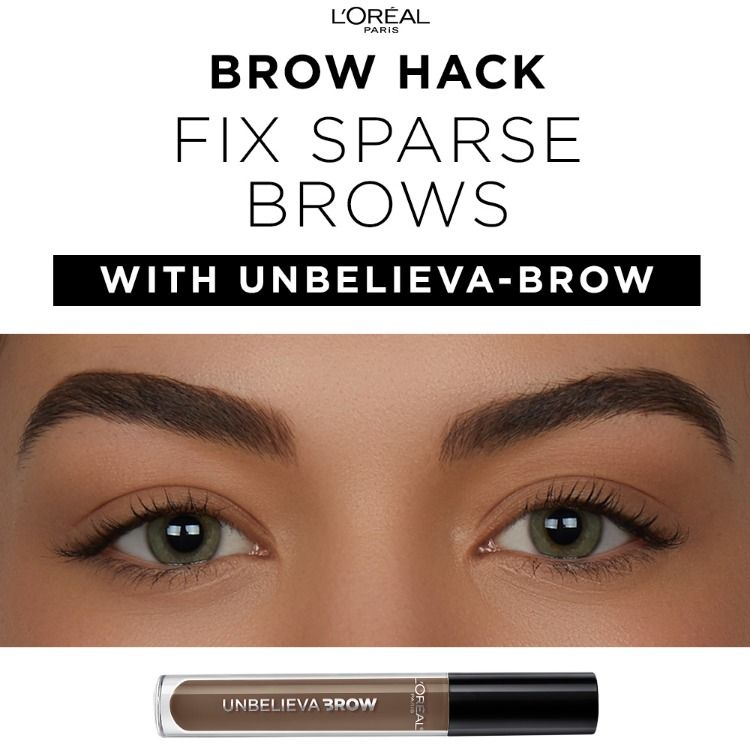 6091fd53966 L'Oréal Paris Unbelieva-brow is a waterproof, longwear brow gel to fill and  thicken brows that last - experience brows for days, enhanced up to 48  hours.
