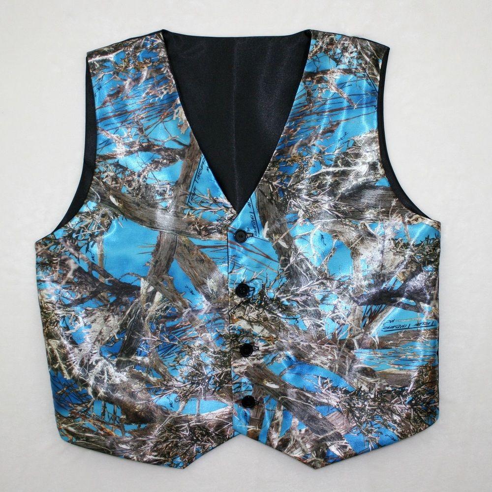 4b6f20c2d2c Men s Blue Camo Vest