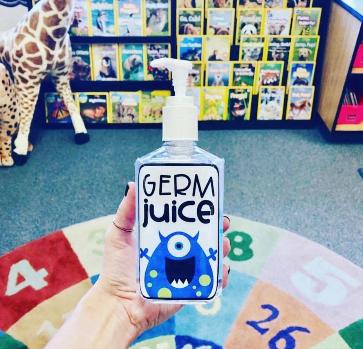 Pin By Amanda Schneider On Teaching Germ Juice Hand Sanitizer