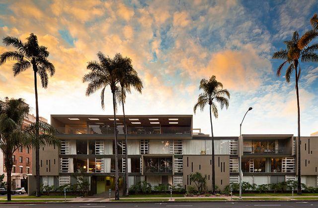 Salomon Apartments California Architecture San Diego Real Estate San Diego