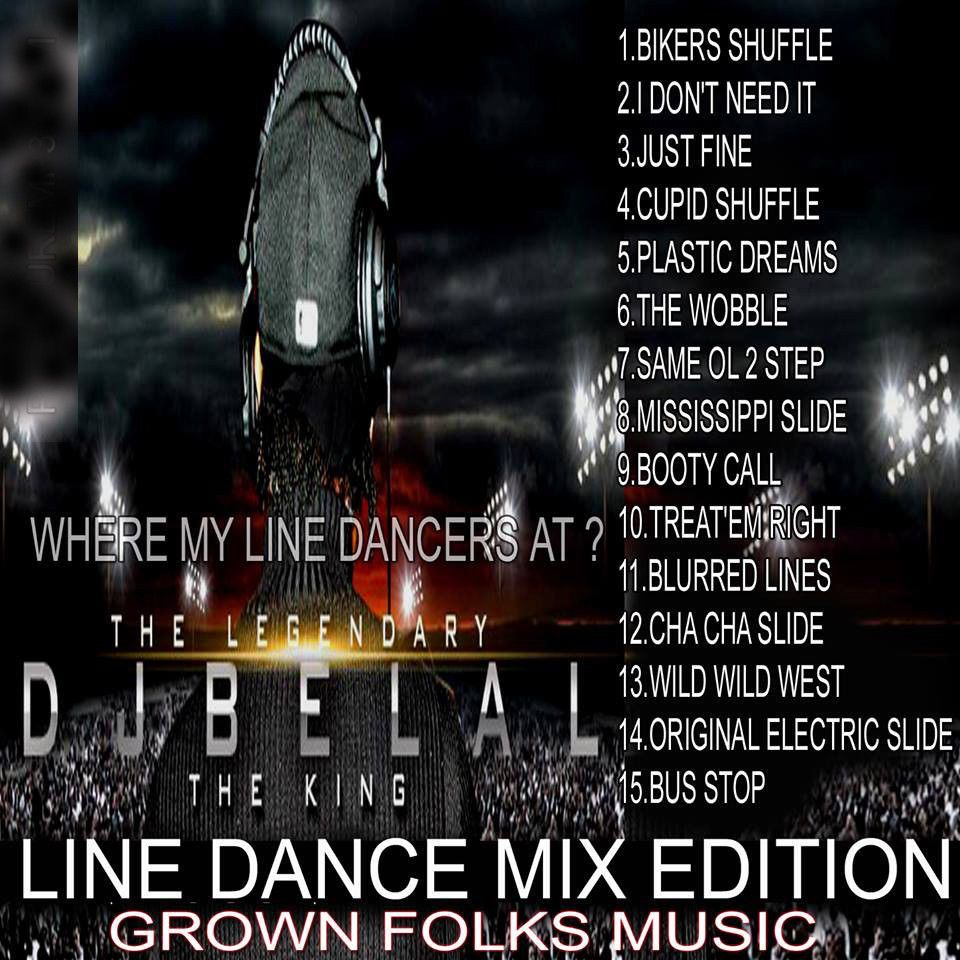 Line Dance Hits - Old School Party Compilation R&B Soul Funk