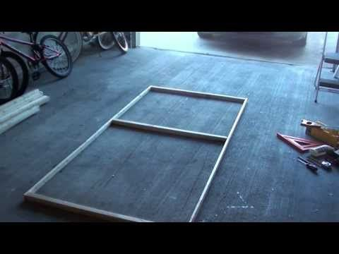 How To Light Weight Cloth Haunted House Wall Panels - YouTube - halloween haunted house ideas