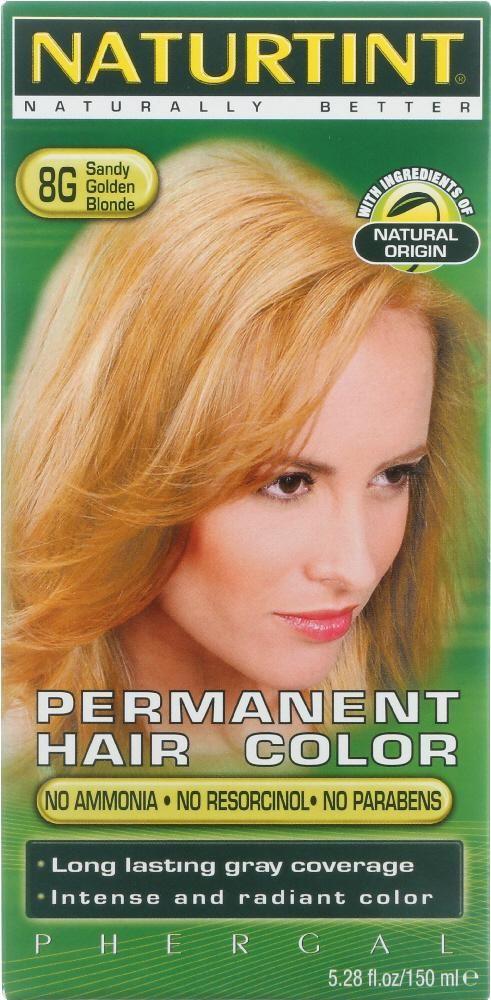 Naturtint Permanent Hair Color 8g Sandy Golden Blonde 528 Oz