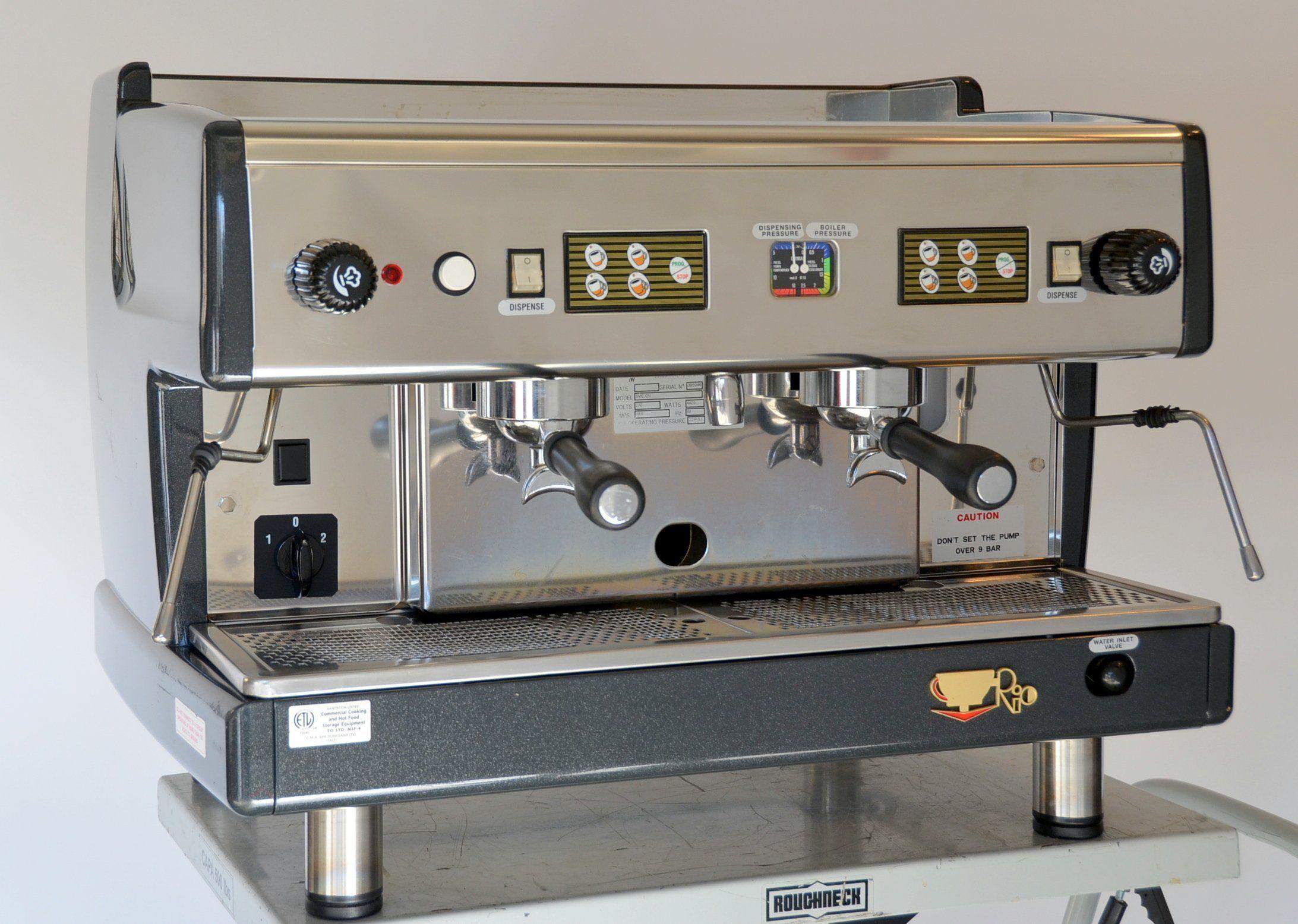 Cma rio sme automatic 2 group commercial espresso machine