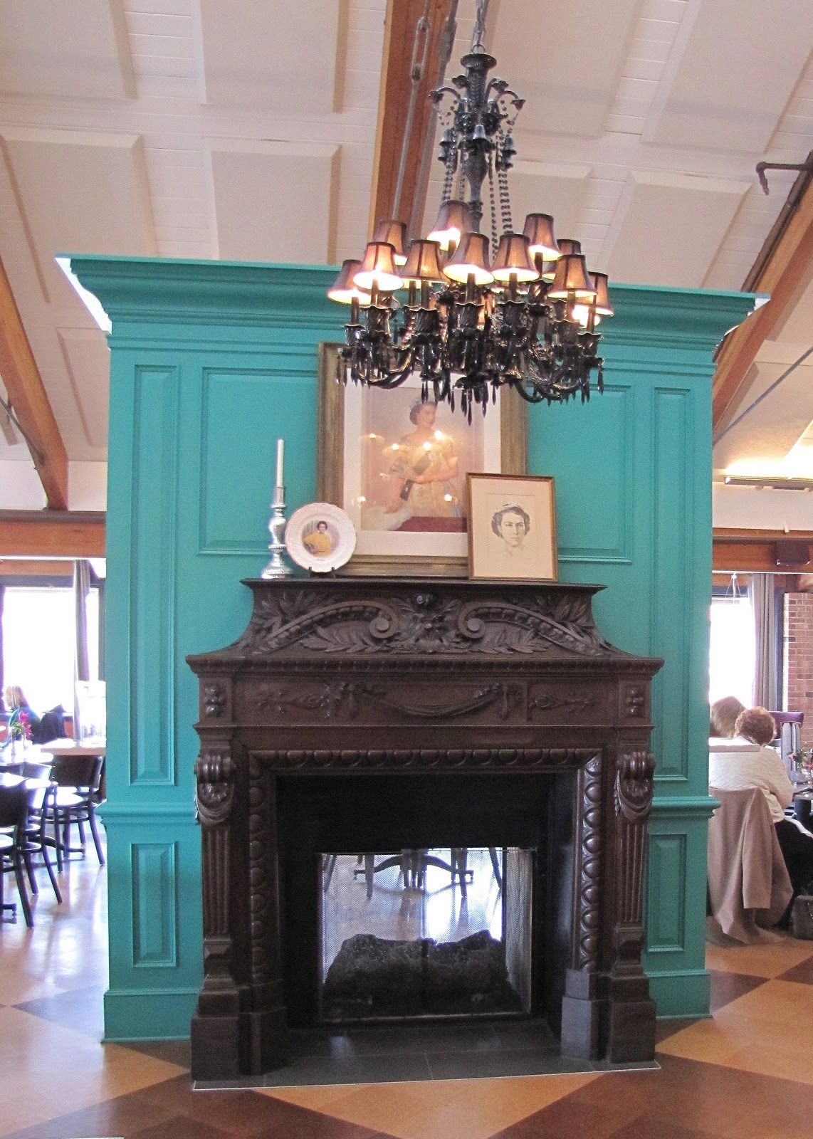 painted fireplace mantel for the home pinterest painted
