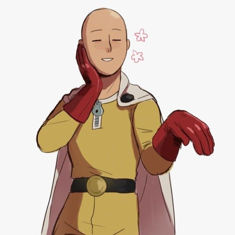 This Sticker Was Created By Me Onepunchman Png Saitama Sticker One Punch Man Manga One Punch Man One Punch Man 3