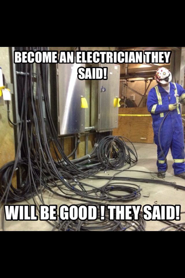 Electricians Electrician Humor Electrician Bad Jokes