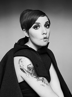 Lena Dunham. An American filmmaker and actress. As of 2013, she has received eight nominations for Emmy Awards and won two Golden Globe Awards for Girls.