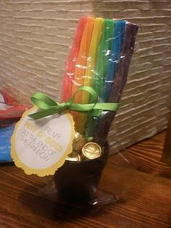 """St. Patrick's Day pot of gold""    Pinned By: Our Seven"