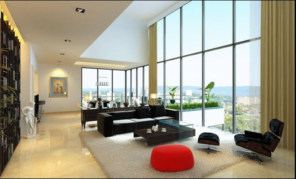 ApartmentsModern Apartment Living Room Design Ideas With Modern