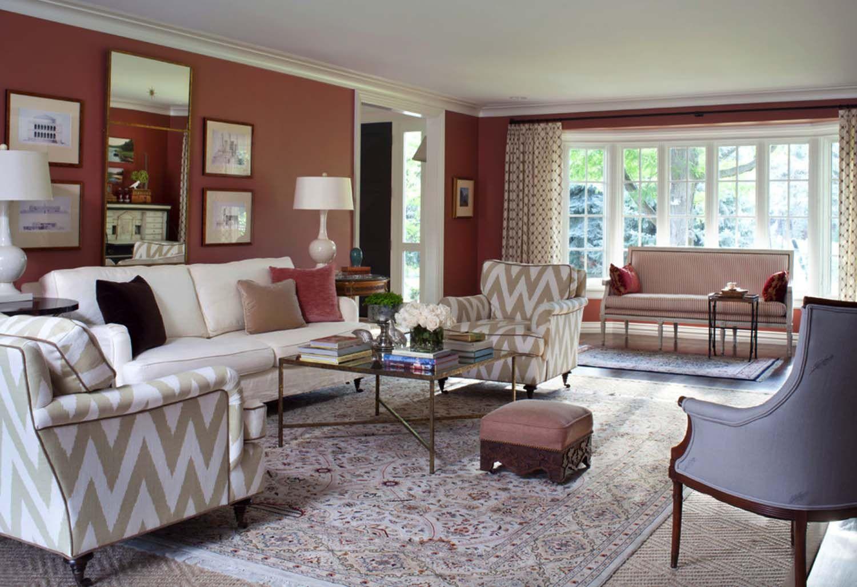 Neue wohnzimmer innenarchitektur renovierte haus in colorado enthüllt einen new england chic stil in