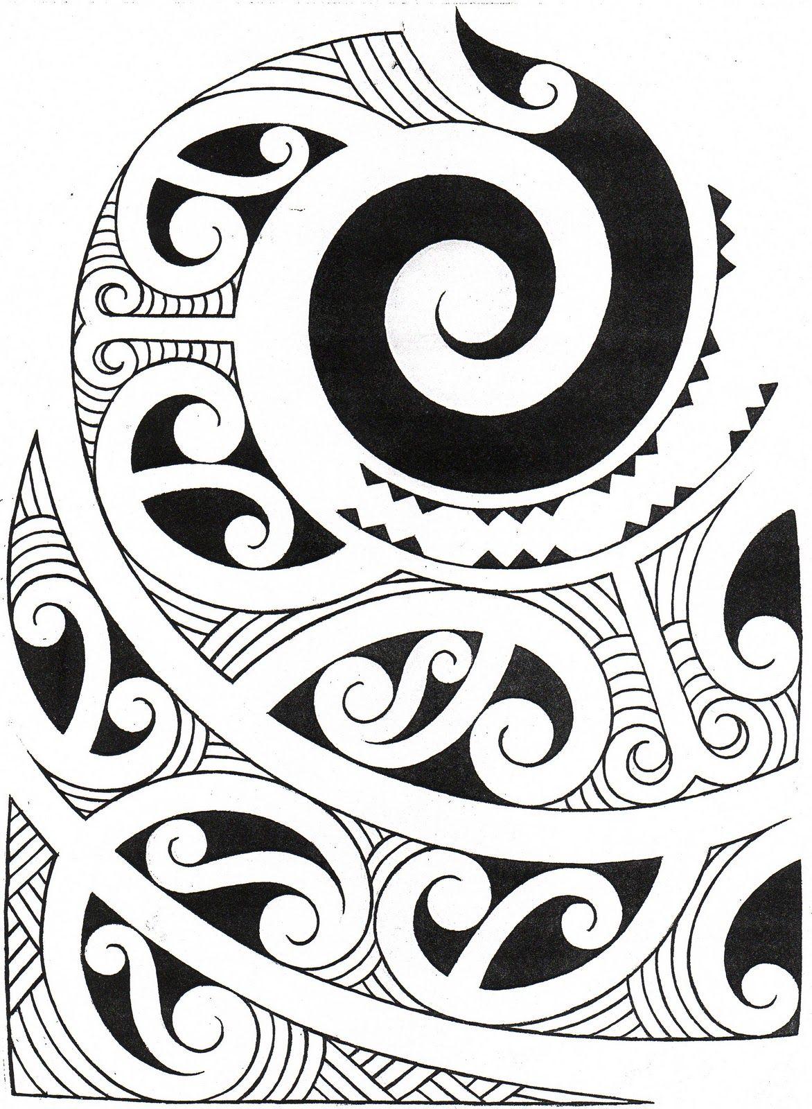 Maori Tattoo Meanings And Symbols: Maori Art, Maori Patterns