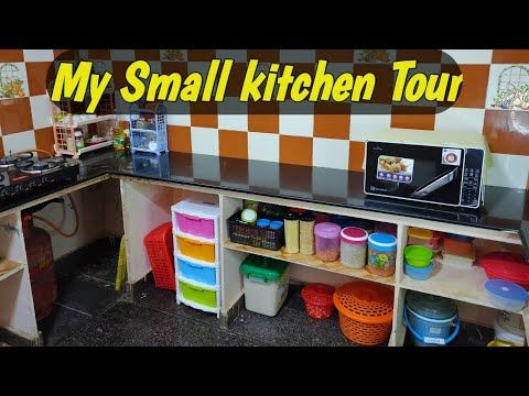 Kitchen Organization Ideas|Indian Small Kitchen ...