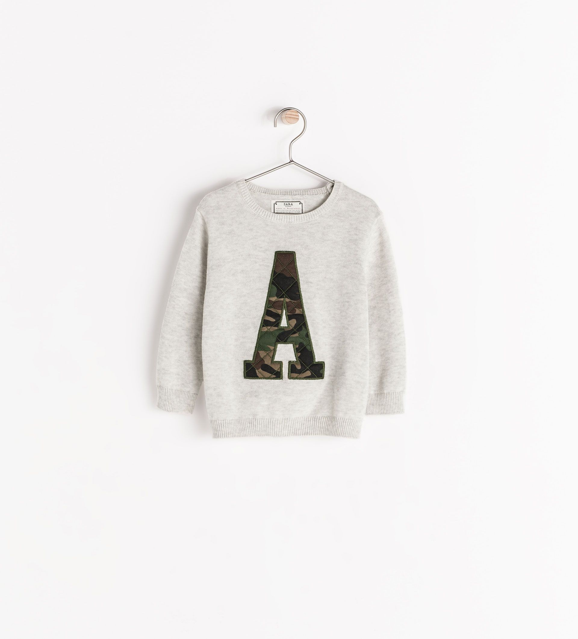 Image 1 of LETTER SWEATER from Zara