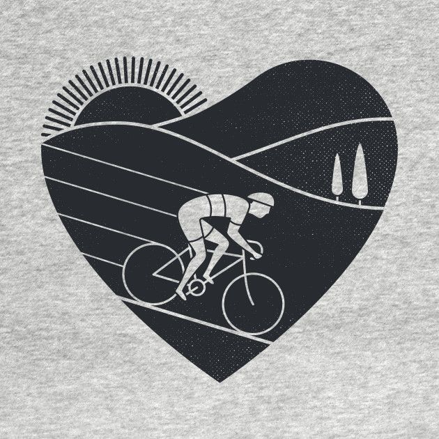 Check out this awesome 'Love+Cycling' design on @TeePublic