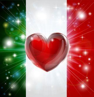 Romantic Words in the Italian Language