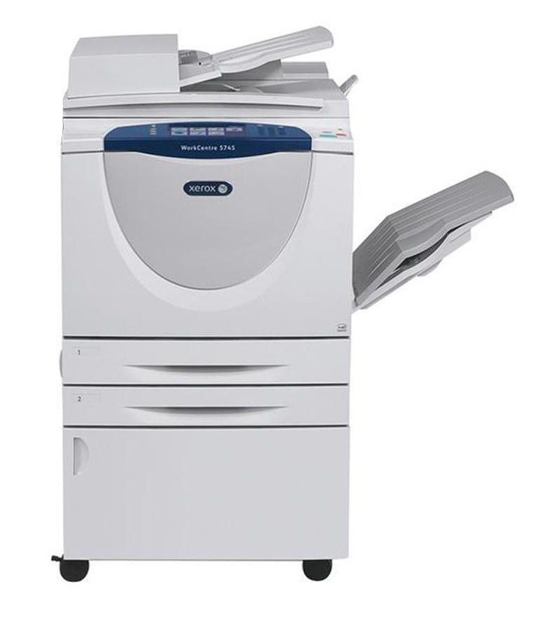 Xerox Workcentre 5735 Black White Copier Xerox With Images