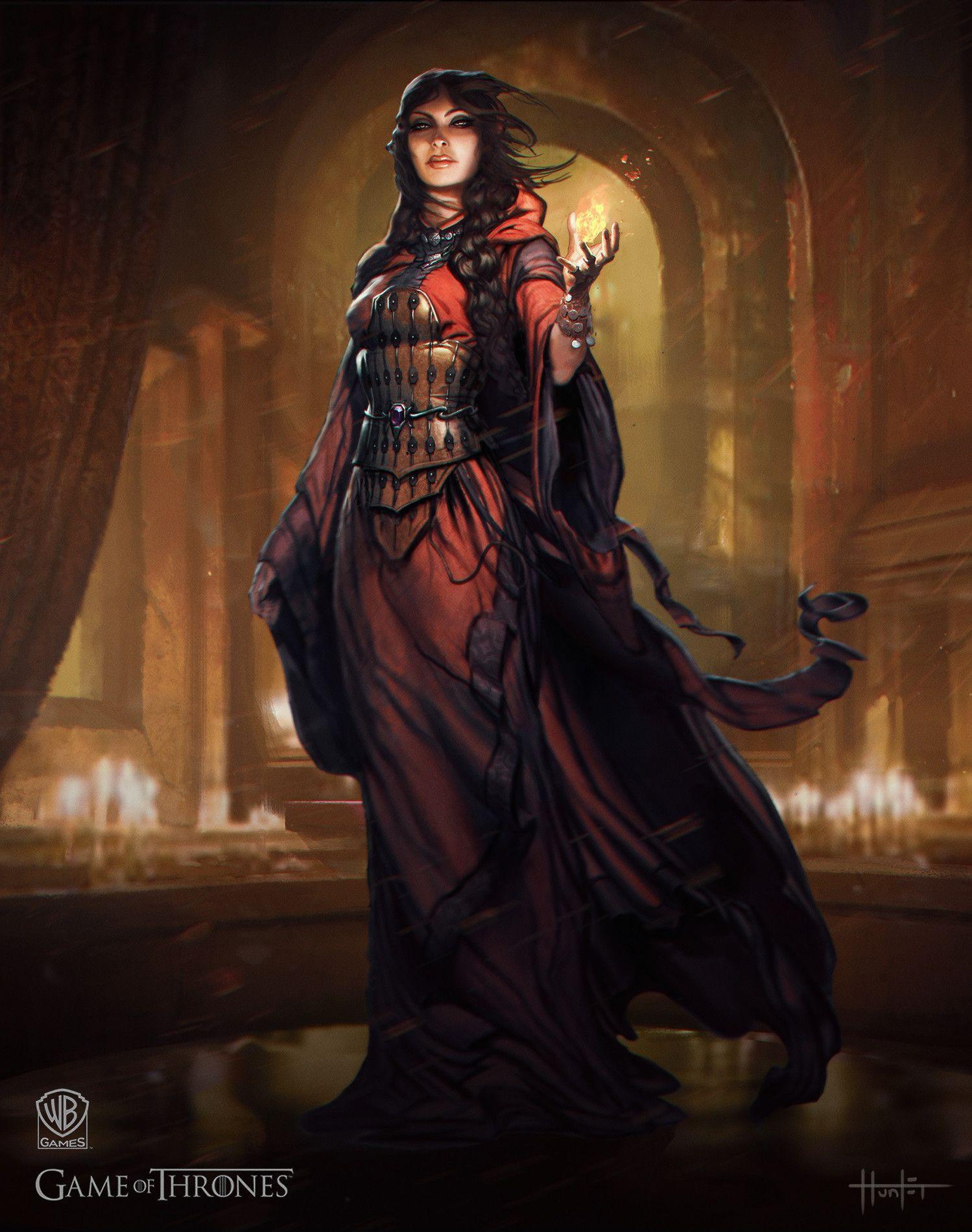 Artstation bolton elite ranged and red priestess hunter