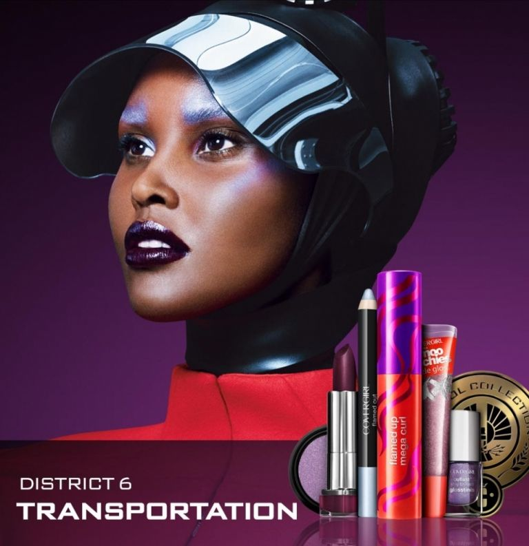 Covergirl Capitol Collection Glosstinis For Catching: Hunger Games Cover Girl Collection District 6