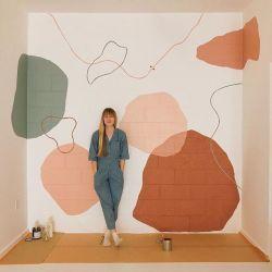 Murals - Abstract Interior Mural