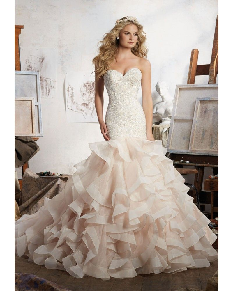 ea0a33b665930 Mori Lee 8111 Maisie Wedding Dress