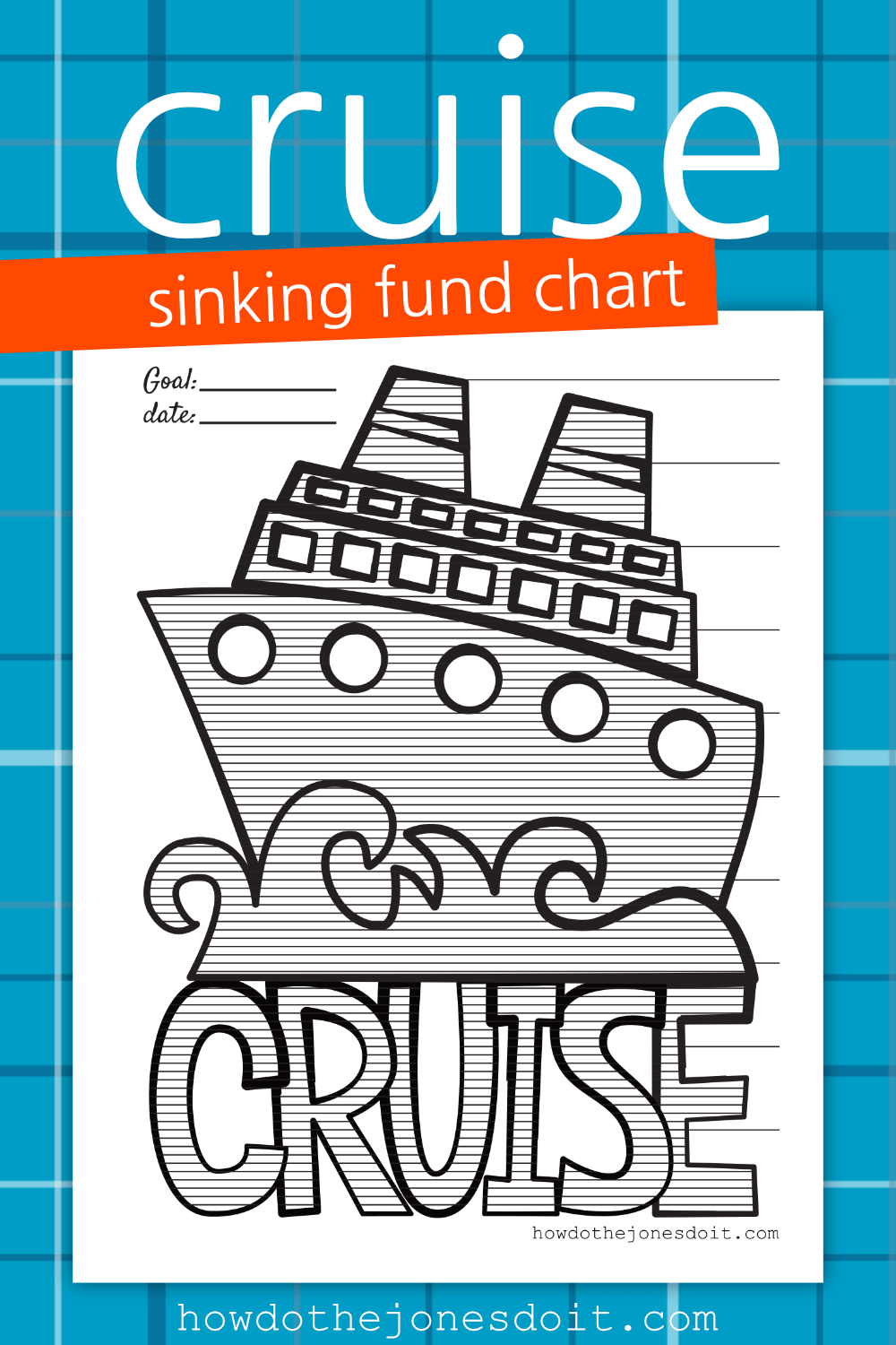 Cruise Sinking Fund Chart in 2018 | **Bloggers on Pinterest ...