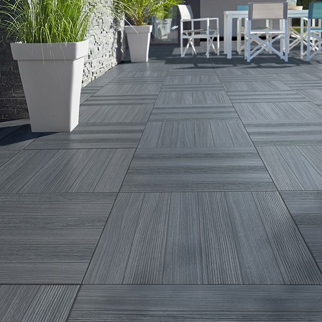 Rev tement terrasse et sol ext rieur castorama jardin for Carrelage exterieur carreau ciment