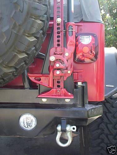 Ultimate Jeep Hi Lift Jack Mount Hi Lift Jack Mount Jeep Jeep Tj