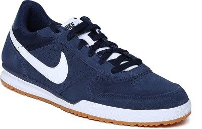 new concept bc1df 098b5 Nike Field Trainer Leather Sneakers - Buy MID NAVYWHITE-GM LGHT BRWN Color Nike  Field Trainer Leather Sneakers Online at Best Price - Shop Online for ...