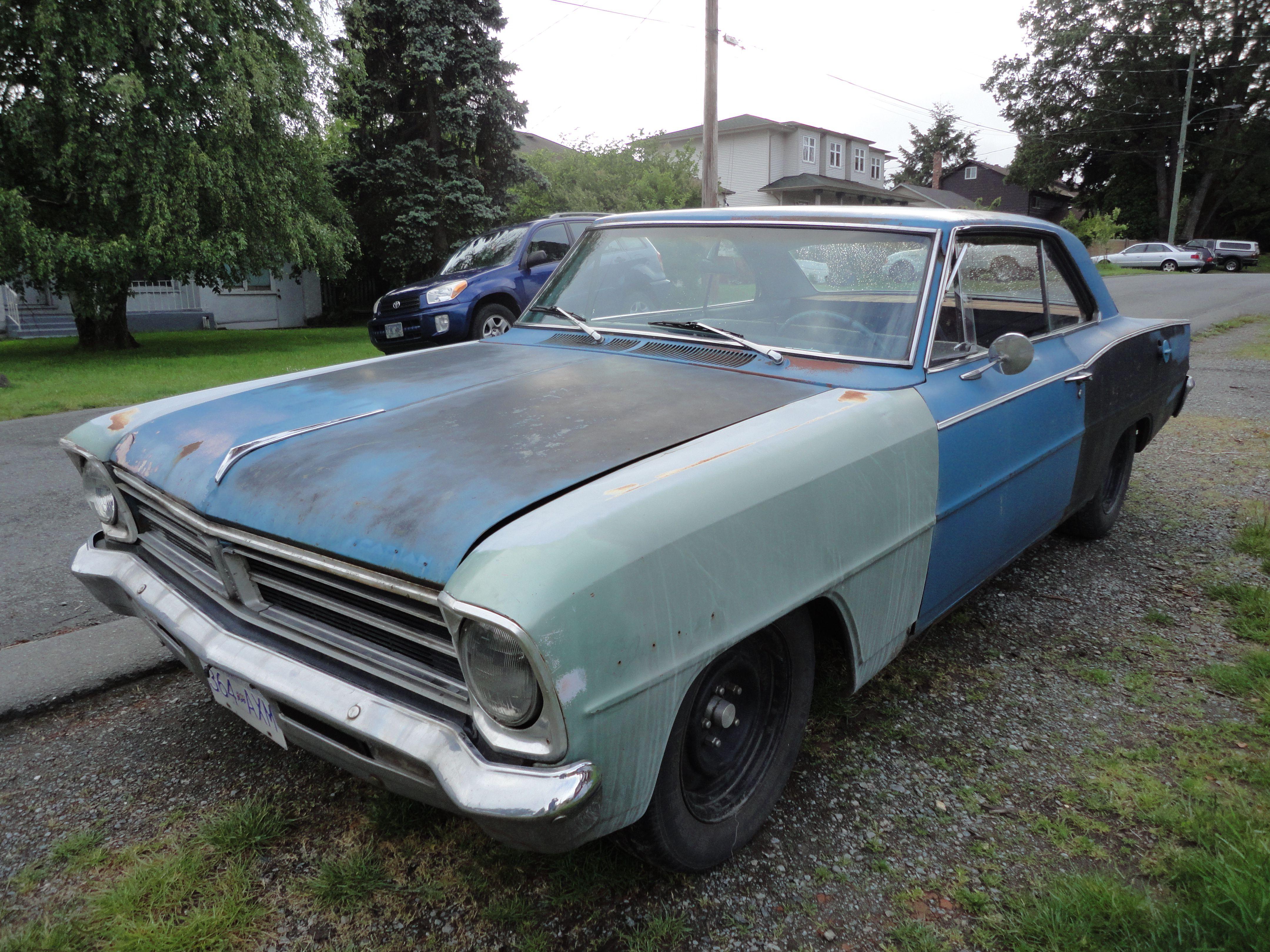 1966 Acadian Canso Car Barn Chevy Chevy Nova